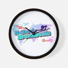 NuSkool BreakBeats Wall Clock