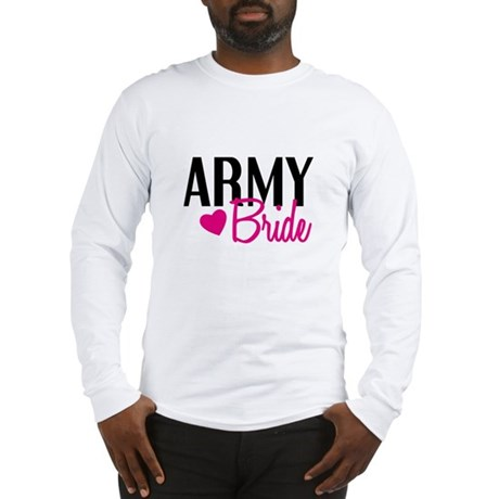 Army Bride Long Sleeve T-Shirt