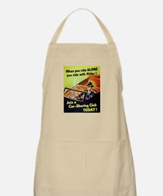 Riding With Hitler Apron