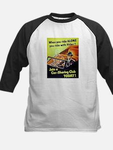 Riding With Hitler Kids Baseball Jersey