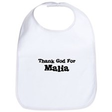 Thank God For Malia Bib