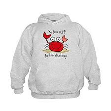Too Cute Crab Hoodie
