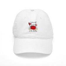 Too Cute Crab Baseball Baseball Cap
