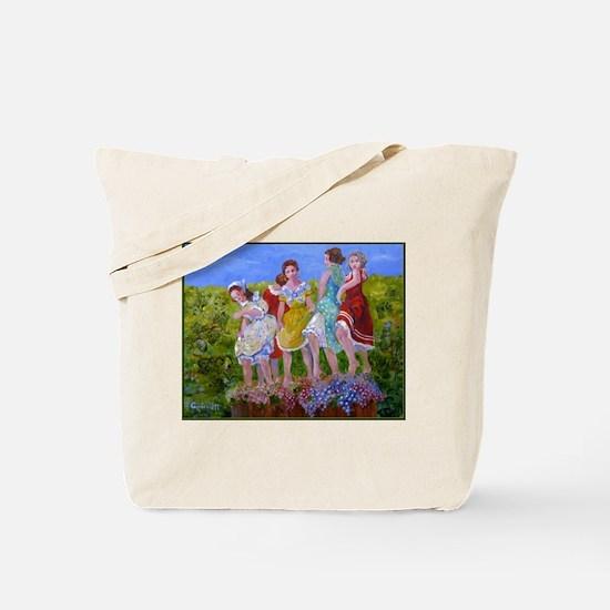 Wine Making Tote Bag