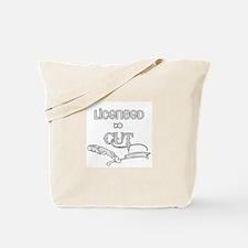 Cute Cosmetologist Tote Bag