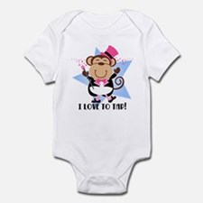 Monkey Tap Dancer Infant Bodysuit