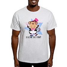 Monkey Tap Dancer T-Shirt