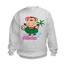 Aloha Monkey Sweatshirt