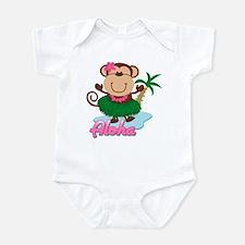 Aloha Monkey Infant Bodysuit
