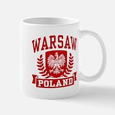 Warsaw Poland Mug