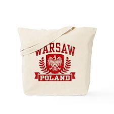 Warsaw Poland Tote Bag