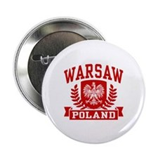 "Warsaw Poland 2.25"" Button"