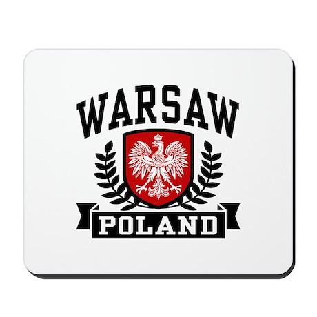 Warsaw Poland Mousepad