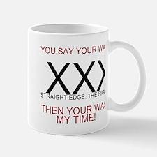 Unique Straightedge Mug