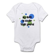 My Aunt Is Cooler Than Yours! Infant Bodysuit