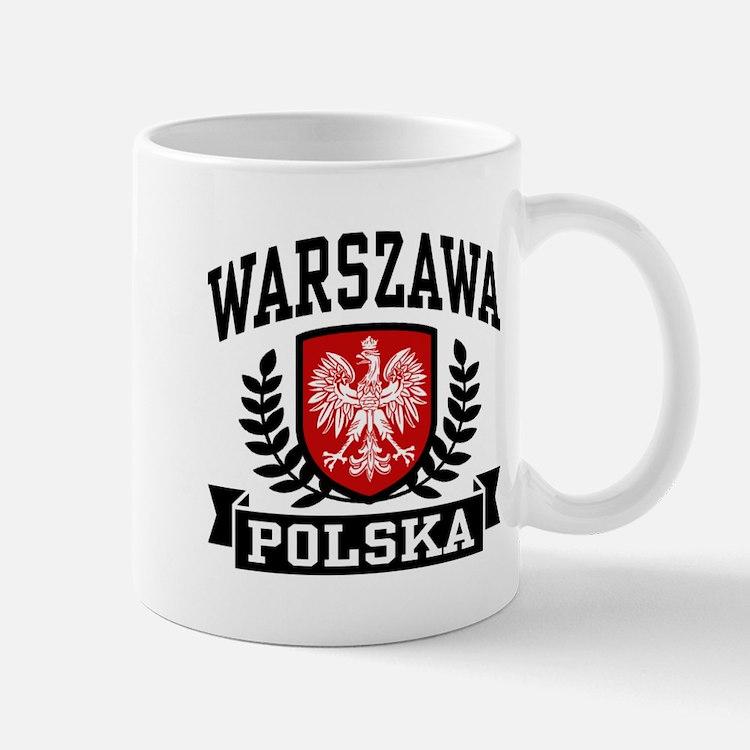 Warszawa Polska Mug