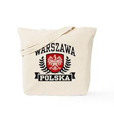 Warszawa Polska Tote Bag