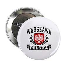"""Warszawa Polska 2.25"""" Button"""
