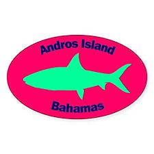 Andros Island Bonefish Sticker (Pink)