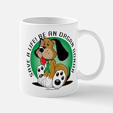 Organ Donor Dog Mug