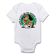 Organ Donor Dog Infant Bodysuit