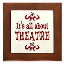 Theatre Framed Tile