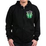 Organ donation Zip Hoodie (dark)