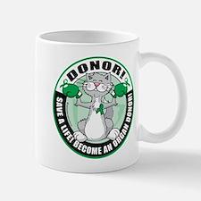 Organ Donor Fighter Cat Mug