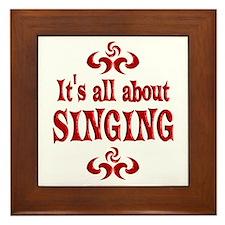 Singing Framed Tile