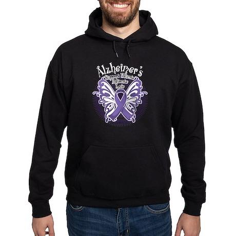 Alzheimers Butterfly 3 Hoodie (dark)