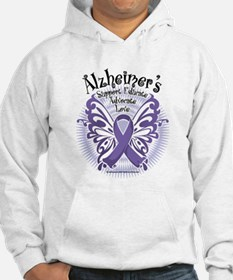 Alzheimers Butterfly 3 Hoodie