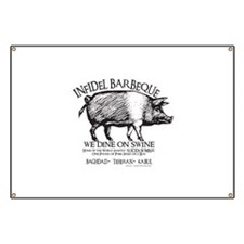 Infidel Barbeque Banner