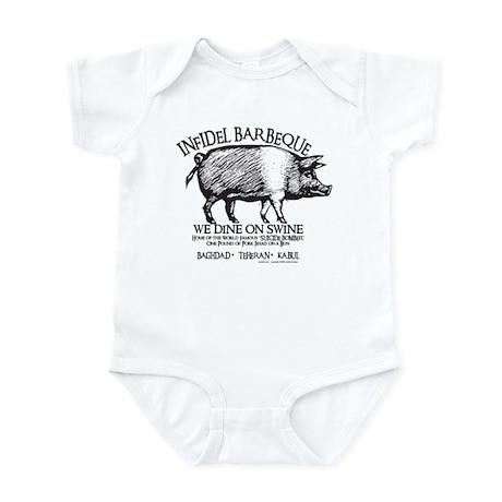 Infidel Barbeque Infant Bodysuit
