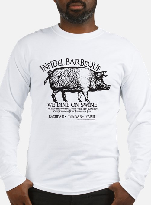 Infidel Barbeque Long Sleeve T-Shirt