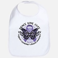 Alzheimers Peace Love Cure Tr Bib