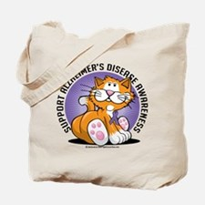 Alzheimers Cat Tote Bag