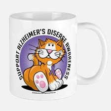 Alzheimers Cat Mug