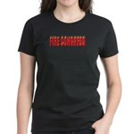 Fire Congress Women's Dark T-Shirt