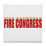 Fire Congress Tile Coaster