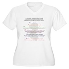 Steps for a Jane Austen Knock T-Shirt