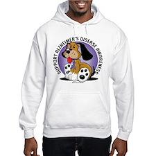 Alzheimers Dog Hoodie