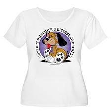 Alzheimers Dog T-Shirt