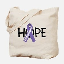 Alzheimers Hope Tote Bag