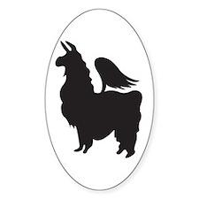 Flying Llama Decal