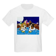 Hot Tub Corgis Kids T-Shirt