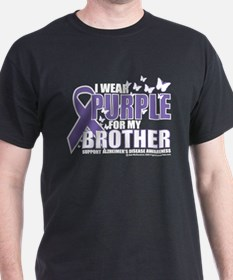 Alzheimers Purple For My Brot T-Shirt