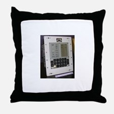Cute Space command Throw Pillow