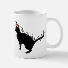 Birds on Cat Mug