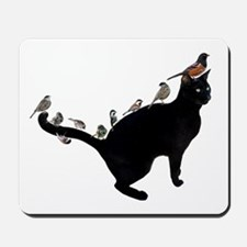 Birds on Cat Mousepad