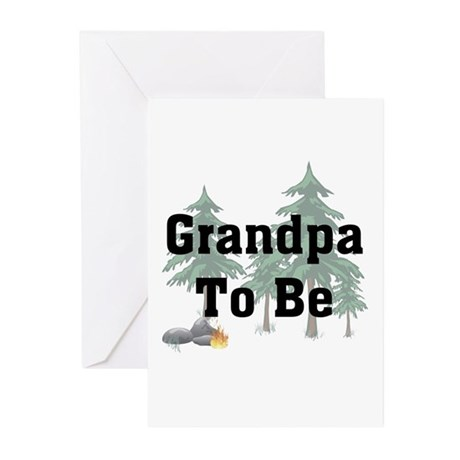 Grandpa To Be Greeting Cards (Pk of 10)